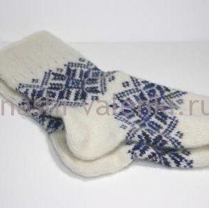 шерстяные носки орнамент