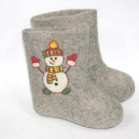 валенки снеговик2