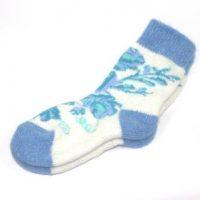 носки голубая роза