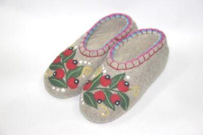 тапочки ягоды хохломы