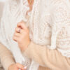 Пуховый платок косынка из козьего пуха.