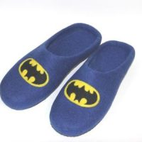мужские тапочки бэтман