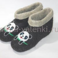 валенки для дома панда