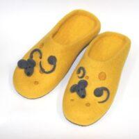 Желтые тапочки Мышки в сыре
